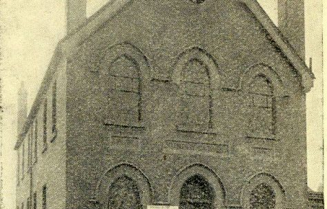Swindon; Manchester Road Primitive Methodist chapel