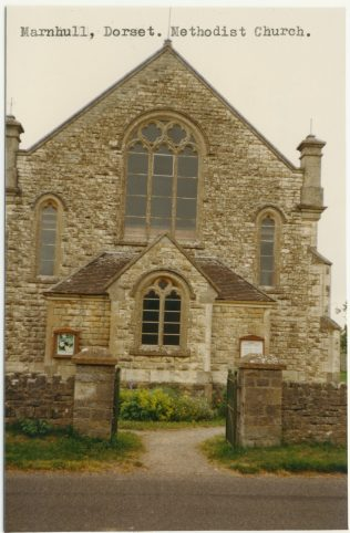 Marnhull Primitive Methodist chapel | Englesea Brook Museum picture and postcard collection
