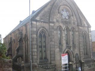 A Primitive Methodist Chapel with 'flying buttresses'