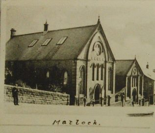 Matlock Primitive Methodist chapel from a postcard dated 1901-1909 | Englesea Brook Museum picture and postcard collection