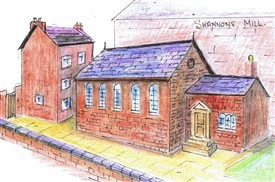 Harvey Teasdale and the re-opening of the old Friends' Meeting House, Tamworth