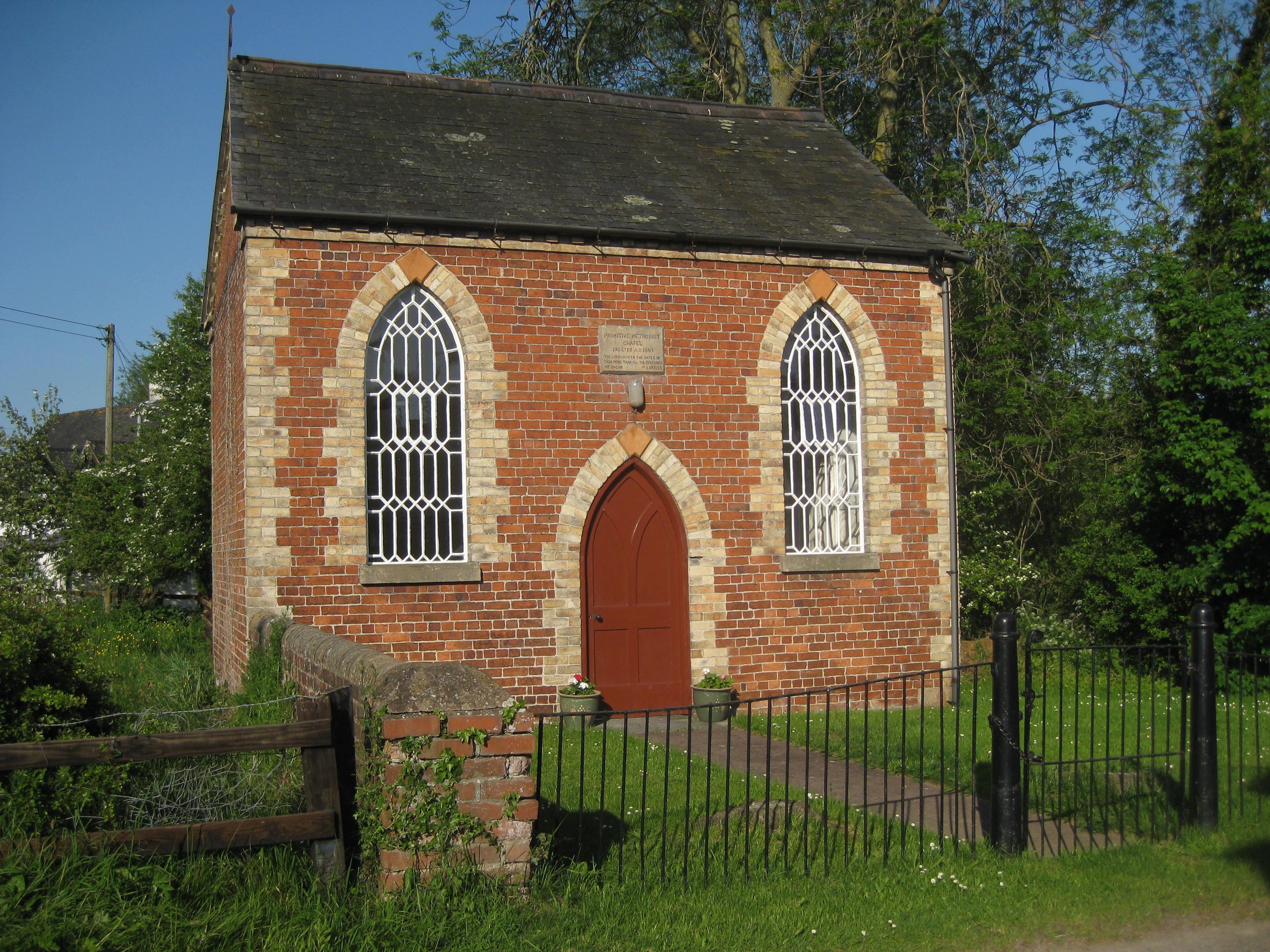 Melverley PM Chapel Shropshire  31ee86705c9