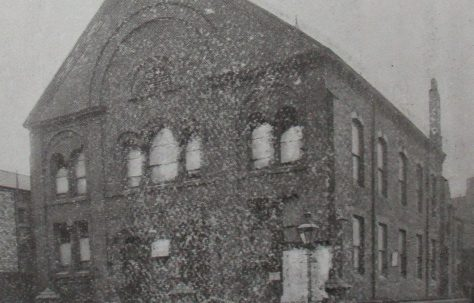 Middlesbrough Gilkes Street Primitive Methodist chapel