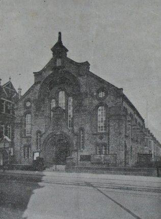 Middlesbrough Linthorpe Road Primitive Methodist chapel | Handbook of the Primitive Methodist Conference 1914; Englesea Brook Museum