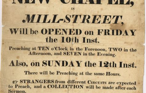 Hull Mill Street Primitive Methodist Chapel (later West St)