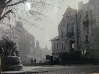 Photograph of PM Chapel in the early 20th Century. By kind permission of the Morpeth Church Society