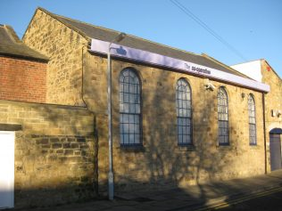 Former PM Chapel in Manchester Street (View of rear)