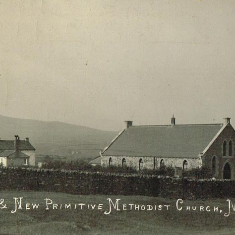 Mouthlock Primitive Methodist Chapel, Barras, Stainmore, Westmorland (now Cumbria) | postcard belonging to Steven Wild