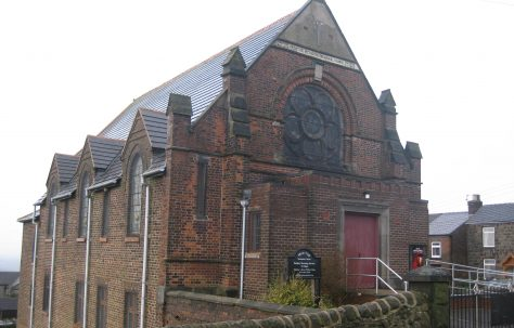 Mow Cop Primitive Methodist Memorial Chapel 1860