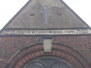 Mow Cop Primitive Methodist Memorial Chapel 1860