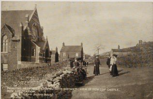 Mow Cop PM Memorial chapel, c1910 | Englesea Brook Museum picture and postcard collection