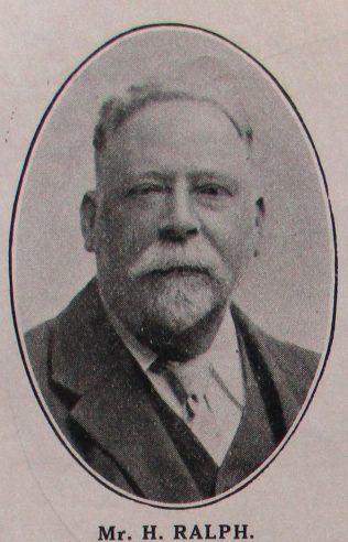 Mr H Ralph, author of the article | Handbook of the Primitive Methodist Conference 1915; Englesea Brook Museum