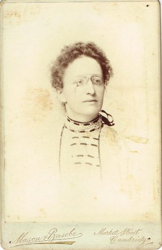 Mrs Johnson, Cambridge, c1904 | Englesea Brook Museum 10.04