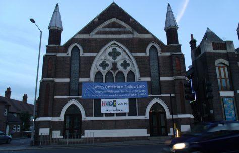 Luton Mount Tabor Primitive Methodist Chapel, Castle Street