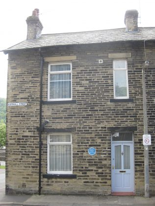 1 Aspinall Street - Birth place of Ted Hughes.