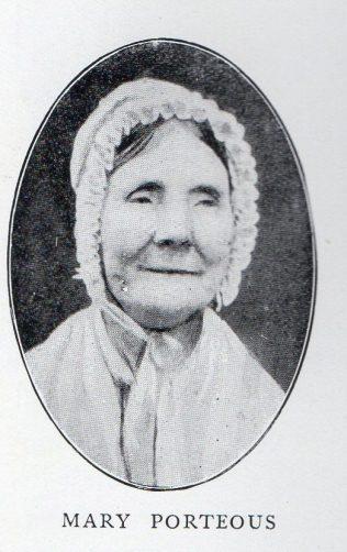 Porteous, Mary (nee Thompson) 1783-1861   Barber p 108
