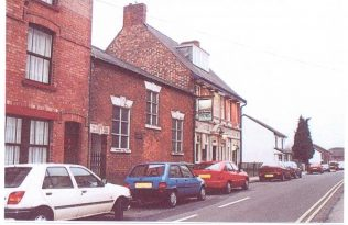 Primitive Methodist Chapel, Priory Street, Lenton. The door has been moved from under the central window to the left of the building. The Boat Inn is seen right next door.Taken in August 2001. | Paul Bexon