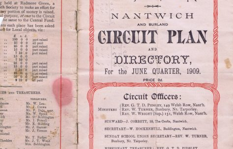Nantwich and Burland Circuit 1909 Q2