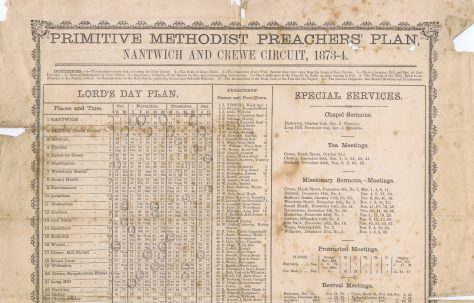 Nantwich and Crewe Circuit 1873-74 Q4
