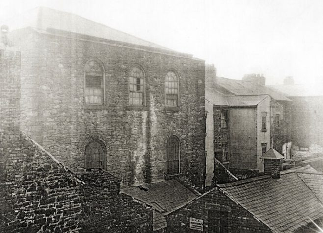 Rear of Nelson Street PM Chapel, Gateshead 1935 | Bede Circuit Archive Collections