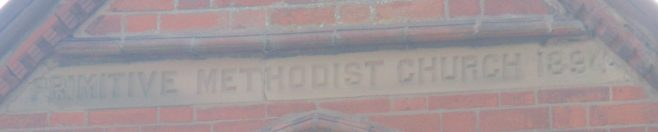 189? Newbold Verdun Primitive Methodist chapel   Christopher Hill 2018