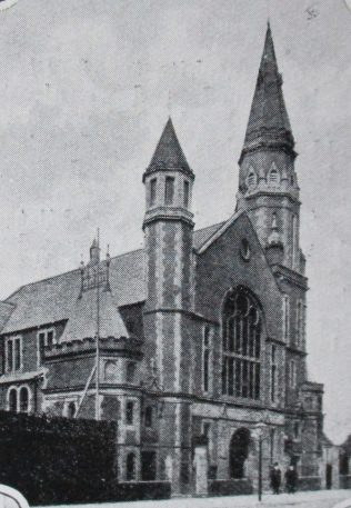 Northumberland Road (later Central) Primitive Methodist Chapel | Handbook of the Primitive Methodist Conference 1924; Englesea Brook Museum