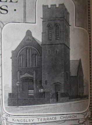 Newcastle Kingsley Terrace Primitive Methodist chapel | Handbook of the Primitive Methodist Conference 1924; Englesea Brook Museum