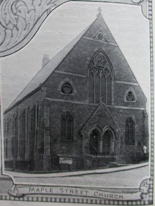 Newcastle Maple Street Primitive Methodist chapel | Handbook of the Primitive Methodist Conference 1924; Englesea Brook Museum