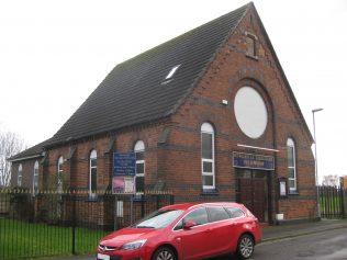 Newcastle under Lyme Boundary Street Mount Zion Primitive Methodist Chapel Staffordshire