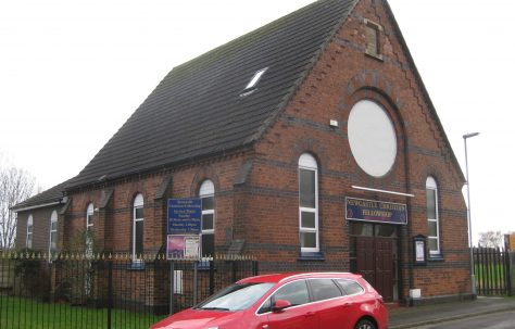 Newcastle under Lyme Boundary Street Mount Zion Primitive Methodist Chapel Staffordshire