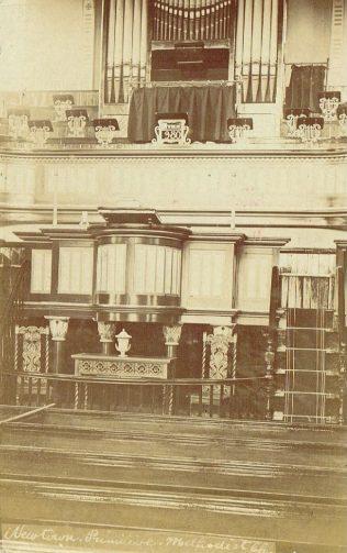 Macclesfield Newtown Primitive Methodist chapel | postcard belonging to Steven Wild