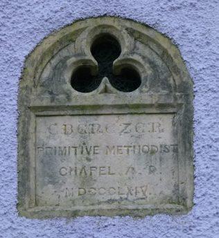 Norton Wood PM Chapel wall plaque | R Beck