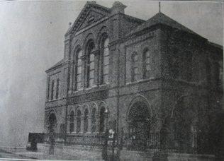 Nottingham Mayfield Grove Primitive Methodist chapel | Handbook of the Primitive Methodist Conference 1916; Englesea Brook Museum