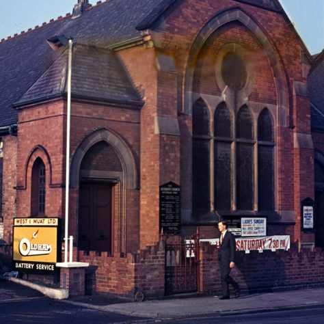 former Nottingham Road Primitive Methodist chapel, Loughborough around 1990 | Jeff Buckley