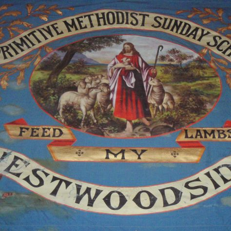 Westwoodside Sunday School banner | Rev. David Leese.