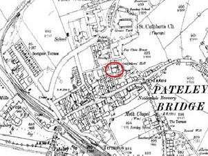 Extract from 1891 OS map