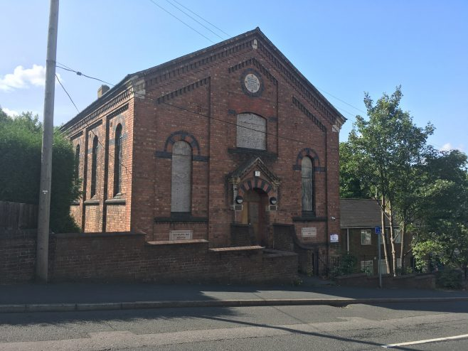 Oakengates Station Hill Primitive Methodist chapel | Christopher Hill August 2018