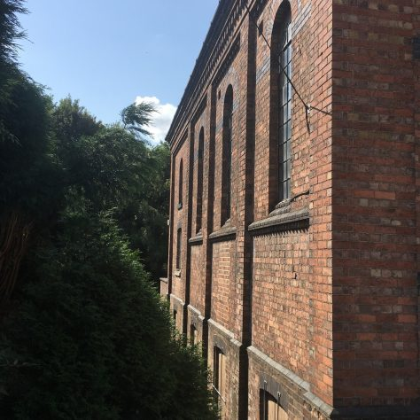 Oakengates Station Hill Primitive Methodist chapel, uphill side | Christopher Hill August 2018