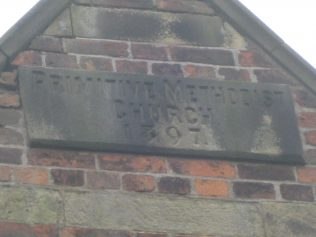 Oakhanger Primitive Methodist Chapel plaque | Elaine and Richard Pearce 2012