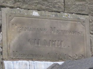 Onecote PM Chapel, Staffs