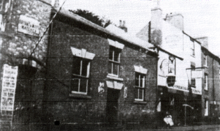 Original Methodicals Church on Priory Street, Lenton, where Henry Roe's older brothers took him when he was a child. Taken in 1902. | Mr. A. Spick