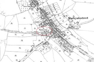 Extract from 1898 OS map