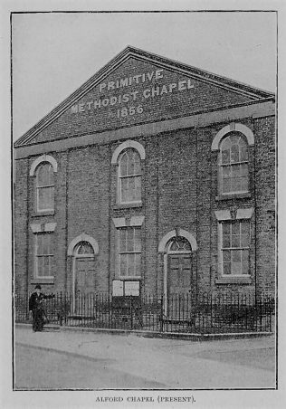 Alford PM Chapel, c1903 | H B Kendall, The Origin & History of the Primitive Methodist Church, vol 1, p452