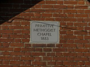 Wall Plaque, Kenninghall PM Chapel - September 2015 | Paul Womack