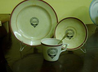 Tea Set stamped Collins Street Primitive Methodist Church | Andrew Wood
