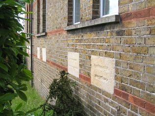 Damage to stone inscriptions | David Noble