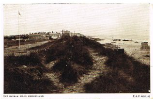 Postcard sent by Harold to his mother from Kessingland Beach, 7 Dec 1916 | Englesea Brook Museum