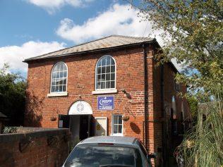 The former Alrewas Primitive Methodist Chapel, taken in 2016   Pastor Gervase N. Charmley