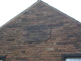 Date plaque | GW Oxley, Ref P1010041