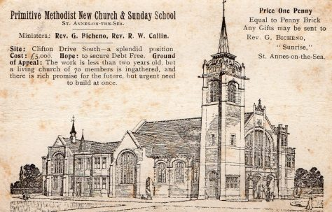St Annes on the Sea King's Road Primitive Methodist church